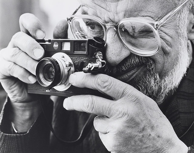 "Snapshot Poetics: ""I do my sketching and observing with the camera"". The great Beat-poet Allen Ginsberg (1926-1997) with his Leica M6. Amongst other things, he said this which may be true for most Leica users and their cameras and lenses: ""Somethings once you've loved them become yours forever. And if you try to let them go they only circle back and return to you. They become apart of who you are..."""