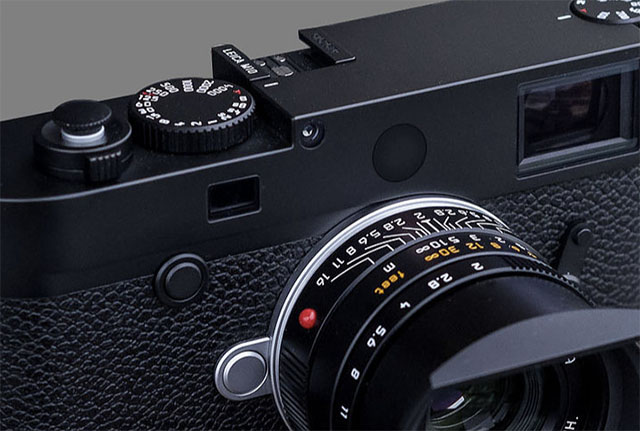 The black painted brass dot for Leica M10 from MG Production in Hong Kong. $10 including shipping.