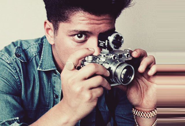 Bruno Mars with Leica.