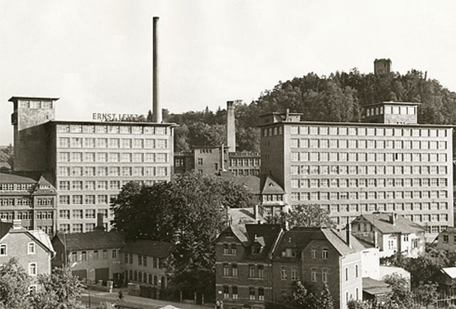 The Ernst Leitz factory in Wetzlar, Germany