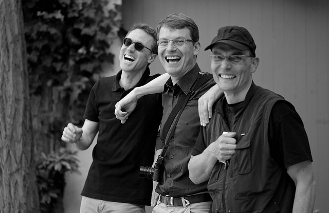 Matthias, Thomas and Chrostoph in Zurich, June 2011. © 2011-2016 Thorsten Overgaard.