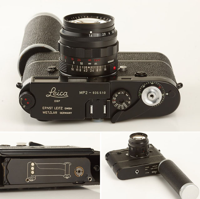 Leica MP2 from 1958 (serial no 935510)