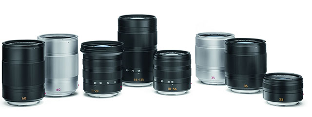 The Leica TL lenses comes in black and silver to match the camera. But it is of course the optical quality that make them stand out.
