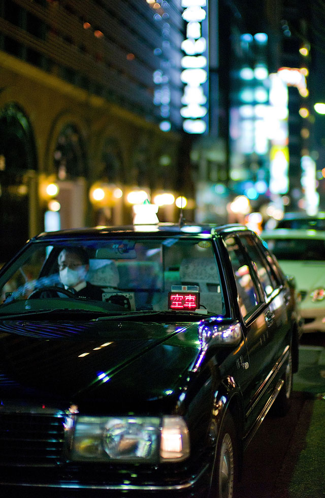Tokyo taxi Leica M9 review and test photos