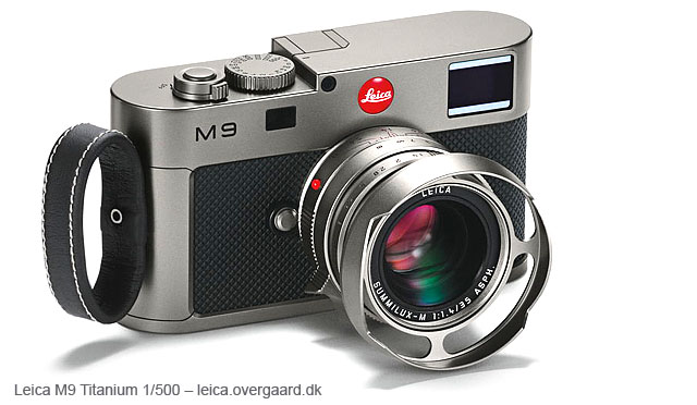 Leica M9 Titanium with 35mm Summilux-M ASPH f/14 limited edition of 500 set, designed by by-Walter de'Silva