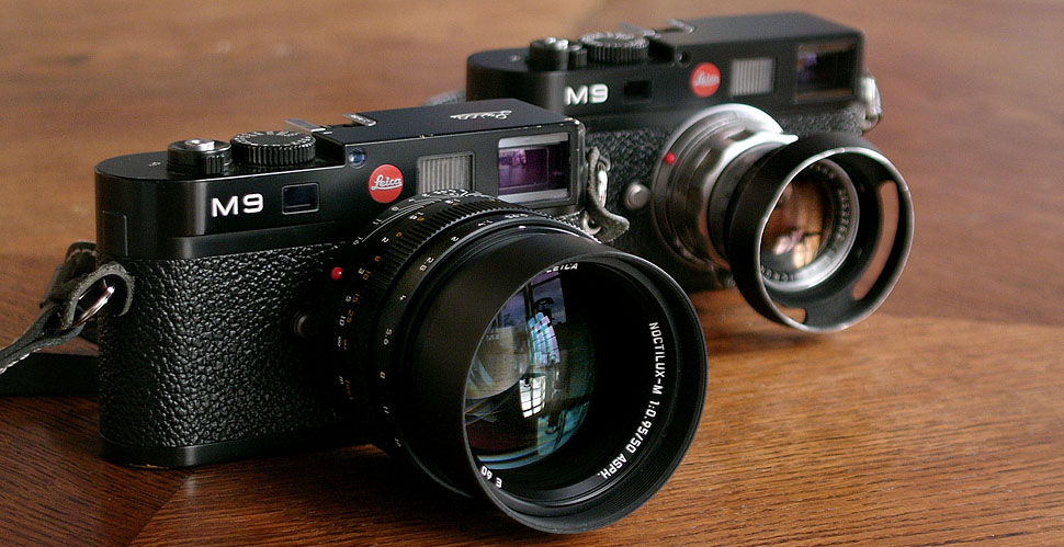 Leica M9 with Leica Noctilux-M ASPH f/0.95 and Leica M9 with Leica Summicron-M f/2.0