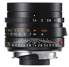 New Leica Summilux-M ASPH f/1.4 with floating elements