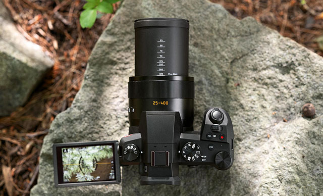 The Leica V-Lux 5 was introduced in 2019 with 25-400mm zoom and 20MP.
