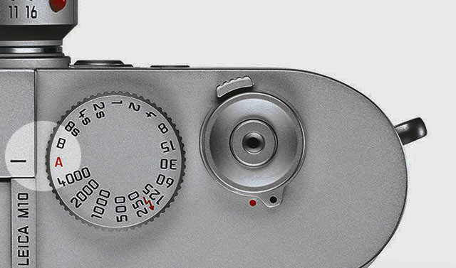 My shutter speed dial is on A most of the time. I adjust the shutter speed by changing where I point the camera ('s lightmeter), or I go manual by turning the shutter speed to the speed I need.