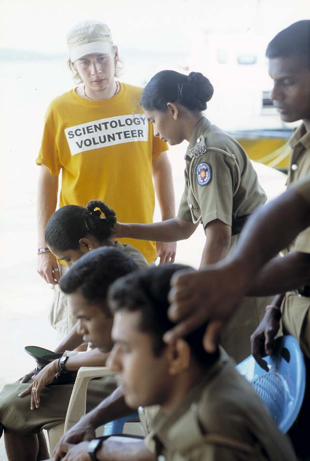 Scientology Volunteer Ministers in Trincomalee, Sri Lanka
