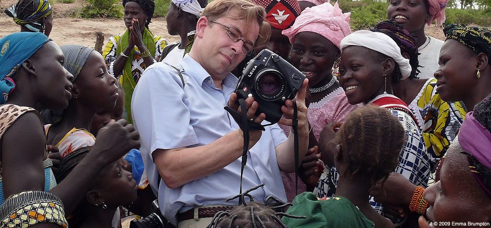 Thorsten Overgaard in Burkina Faso, West Africa