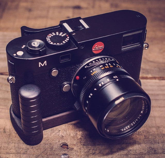 Wooden Hand Grip for Leica M 240